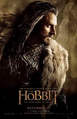 The Hobbit: The Desolation of Smaug - 11 x 17 Movie Poster - Style J