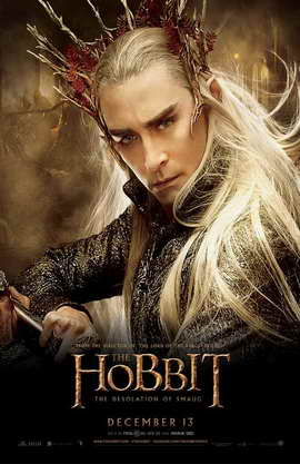 The Hobbit: The Desolation of Smaug - 11 x 17 Movie Poster - Style K
