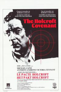 The Holcroft Covenant - 11 x 17 Movie Poster - Belgian Style A