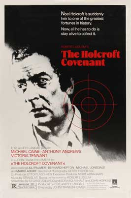 The Holcroft Covenant - 11 x 17 Movie Poster - Style C