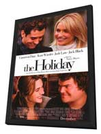 The Holiday - 11 x 17 Movie Poster - Style A - in Deluxe Wood Frame