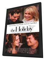 The Holiday - 27 x 40 Movie Poster - Style A - in Deluxe Wood Frame