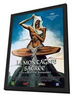 The Holy Mountain - 11 x 17 Movie Poster - French Style A - in Deluxe Wood Frame