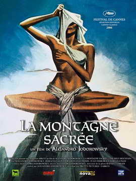 The Holy Mountain - 27 x 40 Movie Poster - French Style A