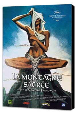 The Holy Mountain - 11 x 17 Movie Poster - French Style A - Museum Wrapped Canvas