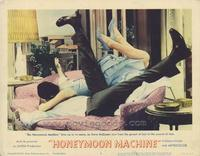 The Honeymoon Machine - 11 x 14 Movie Poster - Style D