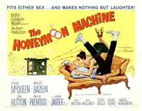 The Honeymoon Machine - 22 x 28 Movie Poster - Half Sheet Style A