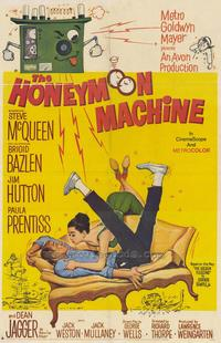 The Honeymoon Machine - 27 x 40 Movie Poster - Style A