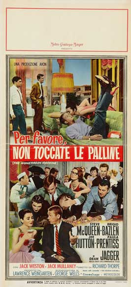 The Honeymoon Machine - 20 x 40 Movie Poster - Italian Style A