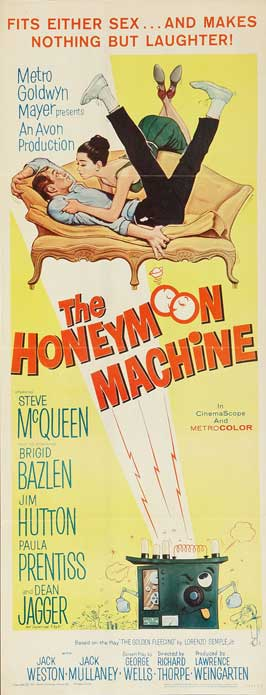 The Honeymoon Machine - 14 x 36 Movie Poster - Insert Style A