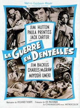 The Horizontal Lieutenant - 11 x 17 Movie Poster - French Style A