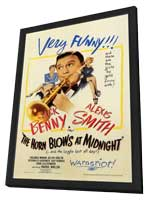 The Horn Blows at Midnight - 11 x 17 Movie Poster - Style A - in Deluxe Wood Frame