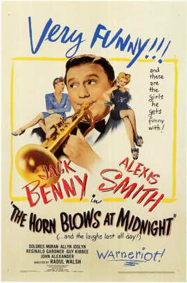 The Horn Blows at Midnight - 11 x 17 Movie Poster - Style A