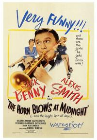 The Horn Blows at Midnight - 43 x 62 Movie Poster - Bus Shelter Style A