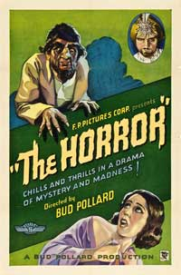 The Horror - 27 x 40 Movie Poster - Style A