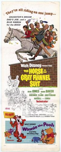 The Horse in the Gray Flannel Suit - 14 x 36 Movie Poster - Insert Style A