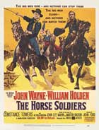 The Horse Soldiers - 27 x 40 Movie Poster - Style B