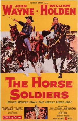 The Horse Soldiers - 11 x 17 Movie Poster - Style A