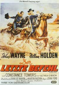 The Horse Soldiers - 11 x 17 Movie Poster - German Style A