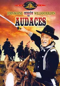 The Horse Soldiers - 11 x 17 Movie Poster - Spanish Style A