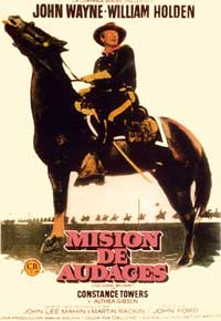 The Horse Soldiers - 11 x 17 Movie Poster - Spanish Style B
