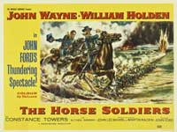 The Horse Soldiers - 30 x 40 Movie Poster UK - Style A