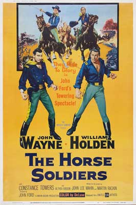 The Horse Soldiers - 11 x 17 Movie Poster - Style E