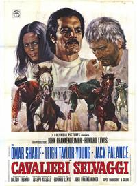 The Horsemen - 11 x 17 Movie Poster - Italian Style A