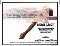The Hospital - 11 x 14 Movie Poster - Style A