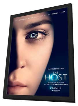 The Host - 27 x 40 Movie Poster - Style A - in Deluxe Wood Frame
