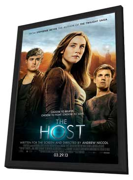 The Host - 11 x 17 Movie Poster - Style C - in Deluxe Wood Frame