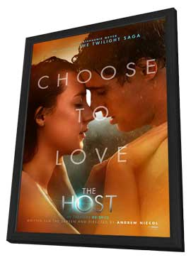 The Host - 11 x 17 Movie Poster - Style D - in Deluxe Wood Frame