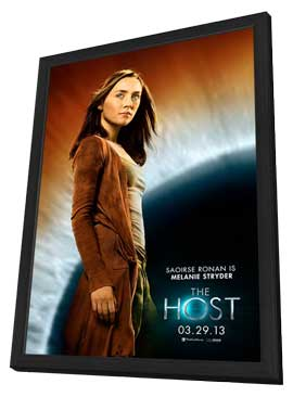 The Host - 11 x 17 Movie Poster - Style E - in Deluxe Wood Frame