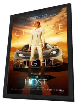 The Host - 11 x 17 Movie Poster - Style F - in Deluxe Wood Frame