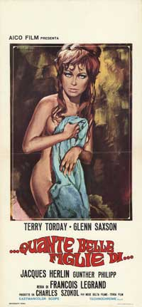 The Hostess Exceeds All Bounds - 13 x 28 Movie Poster - Italian Style A