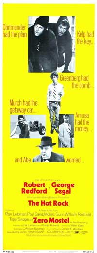 The Hot Rock - 14 x 36 Movie Poster - Insert Style B