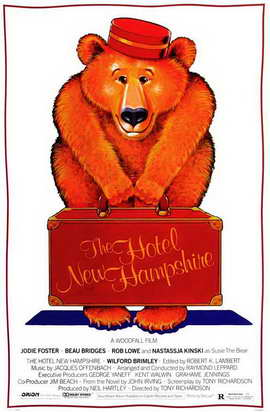 The Hotel New Hampshire - 27 x 40 Movie Poster - Style A