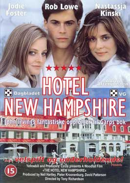 The Hotel New Hampshire - 11 x 17 Movie Poster - Danish Style A