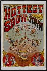 The Hottest Show in Town - 27 x 40 Movie Poster - Style B