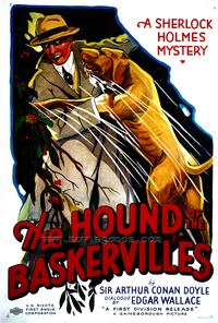The Hound of The Baskervilles - 43 x 62 Movie Poster - Bus Shelter Style A