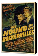 The Hound of the Baskervilles - 11 x 17 Movie Poster - Style A - Museum Wrapped Canvas