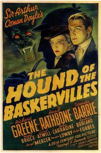 The Hound of the Baskervilles - 11 x 17 Movie Poster - Style A