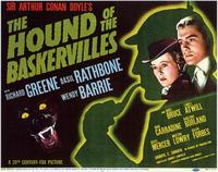 The Hound of the Baskervilles - 11 x 14 Movie Poster - Style A