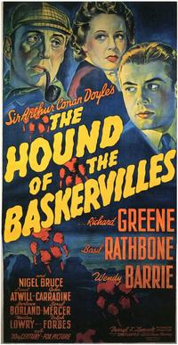 The Hound of the Baskervilles - 11 x 17 Movie Poster - Style B