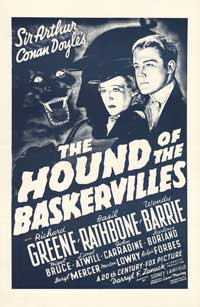 The Hound of the Baskervilles - 27 x 40 Movie Poster - Style C
