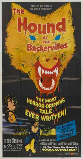 The Hound of the Baskervilles - 11 x 17 Movie Poster - Style E