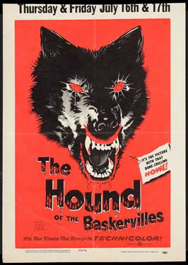 The Hound of the Baskervilles - 11 x 17 Movie Poster - UK Style A