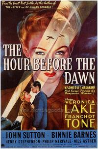 The Hour Before the Dawn - 27 x 40 Movie Poster - Style A