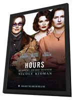 The Hours - 11 x 17 Movie Poster - Style A - in Deluxe Wood Frame