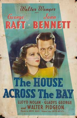 The House Across the Bay - 27 x 40 Movie Poster - Style A